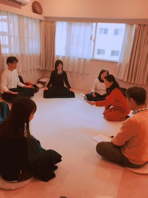 Tosho氏のハート瞑想